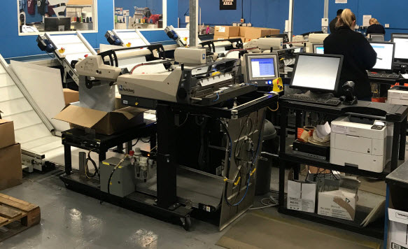 Online Retail Giant, Fanatics, Quadruples Productivity With Autobag<sup>®</sup> 850S<sup>™</sup> Bag Packaging Systems