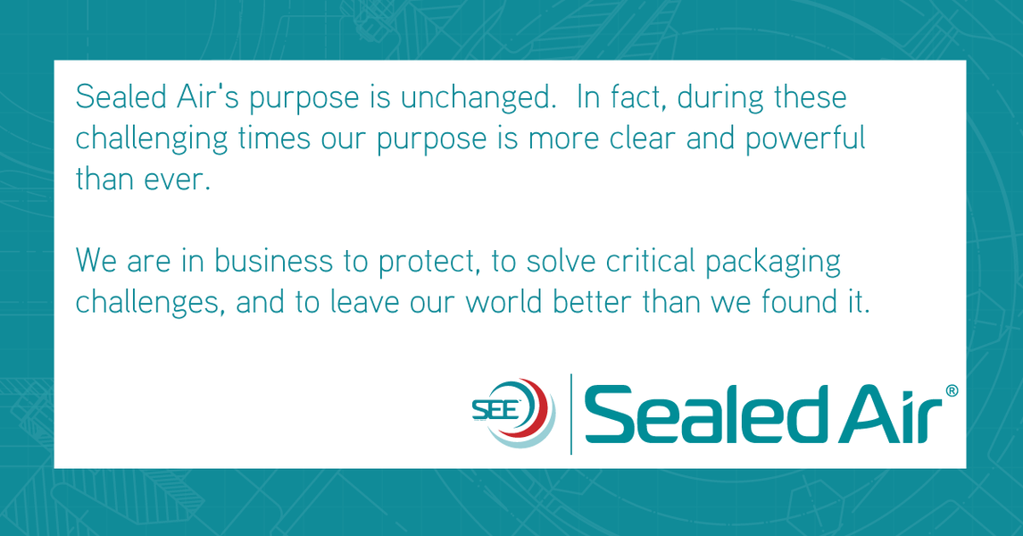Sealed Air's commitment to COVID-19