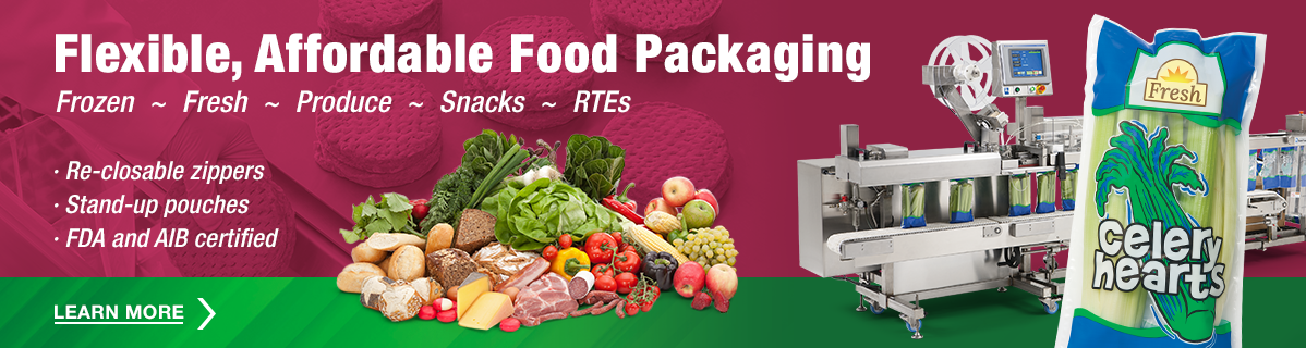 Flexible, Affordable Food Packaging
