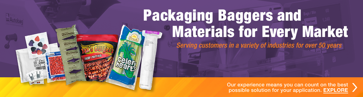 Packaging Baggers and Materials for Every Market