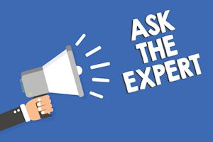 Ask the expert blog post