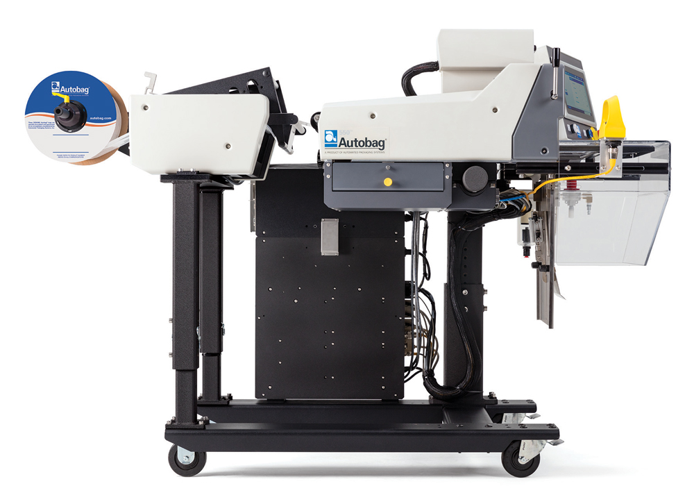 Autobag® 550™ Bagging System right side raised unwind