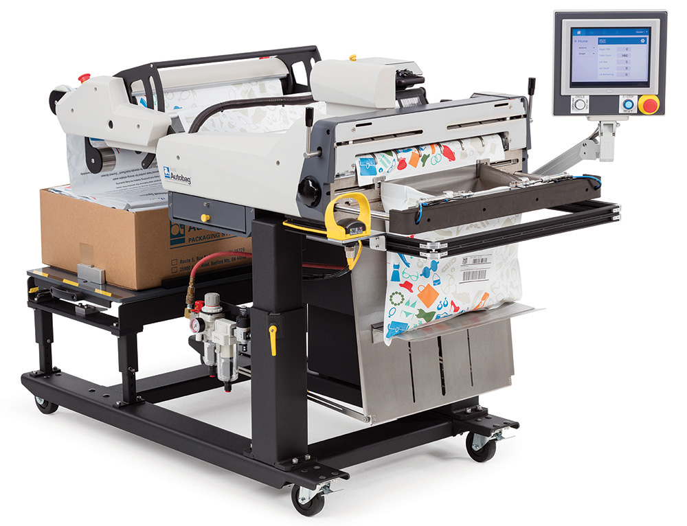 Autobag - Automated Packaging Systems Introduces Extra-Wide, Feature Loaded Breakthrough in Mail Order Fulfillment Bag Packaging