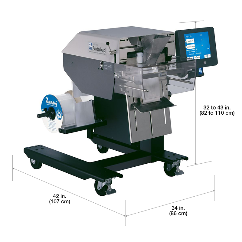 Autobag Ab 145 Hand Load Semi Automatic Bagger From