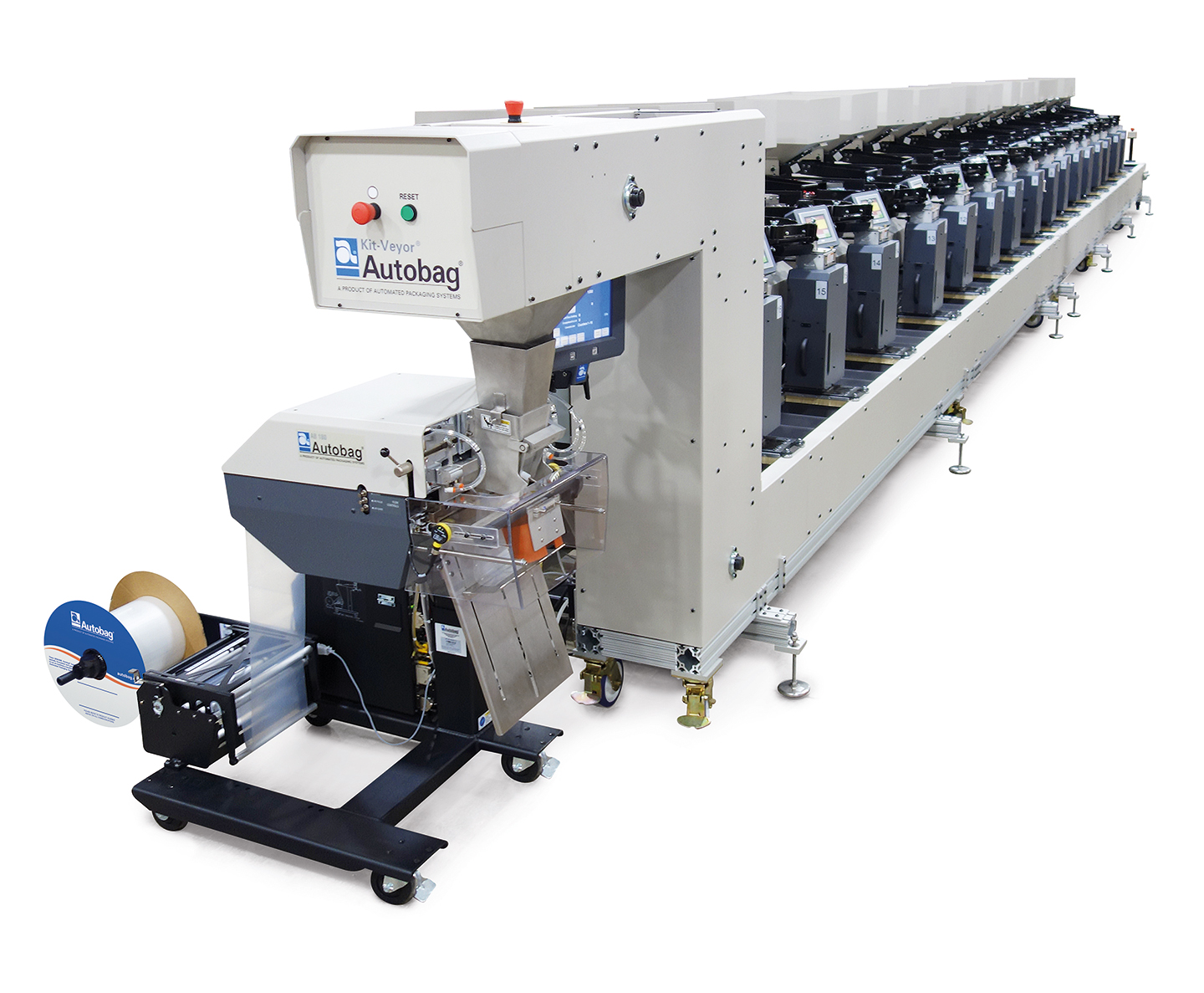 Autobag Kit-Veyor Packaging Conveyor System beauty