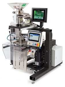The DATA Count U-162 Counter integrated with the Autobag 500 Bagging System