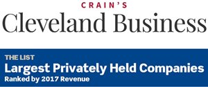 Crain's Cleveland Business Largest Privately Held Companies logo