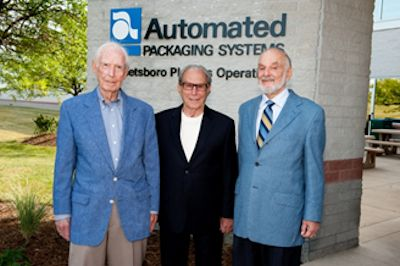 Founders of Automated Packaging Systems, Hershey and Bernie Lerner
