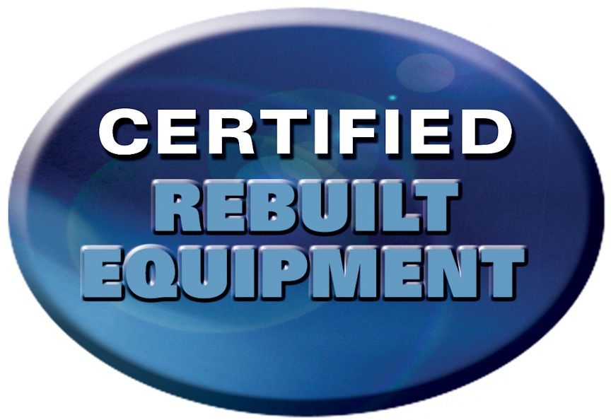 Certified Rebuilt Equipment seal